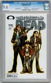 Walking Dead  #3 First Print CGC 9.6 1st App Dale Carol Image Comic
